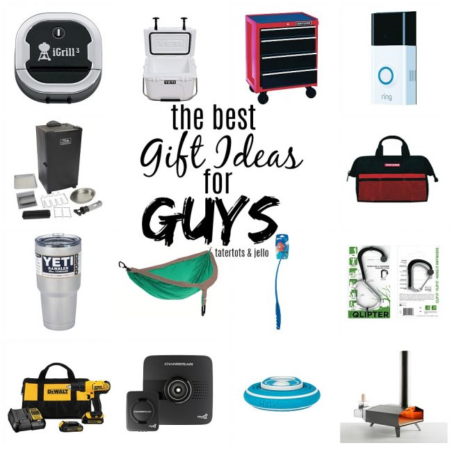 20 BEST Gift Ideas For Guys!