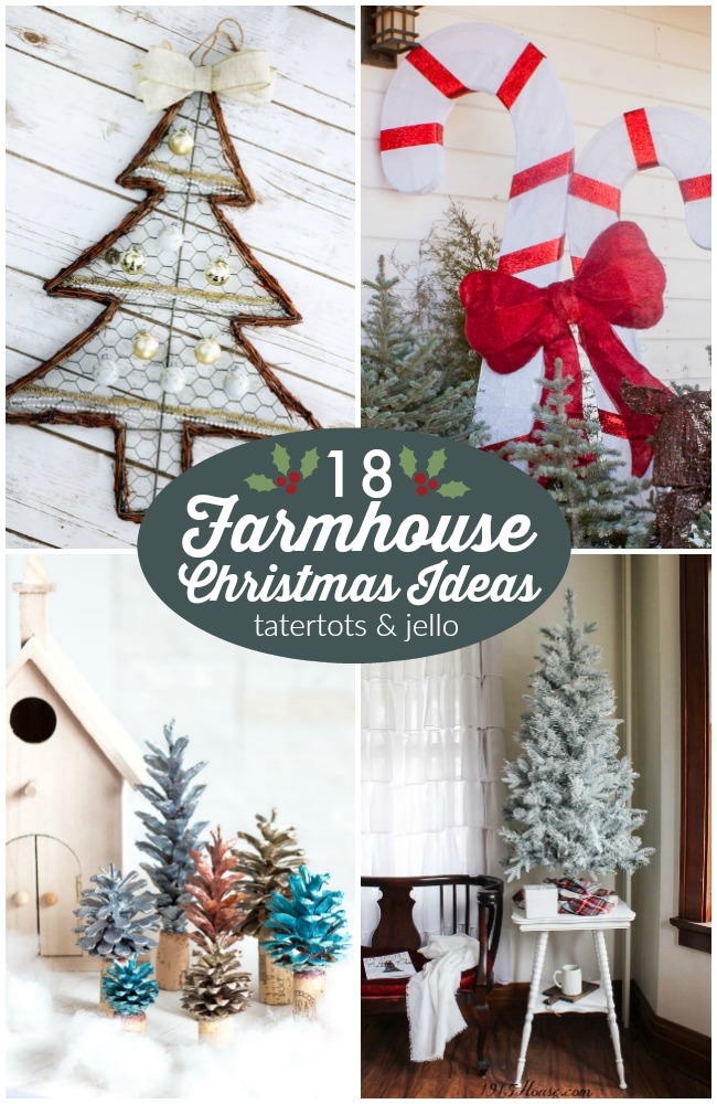 great ideas 18 farmhouse christmas ideas - Christmas Ideas For My Wife