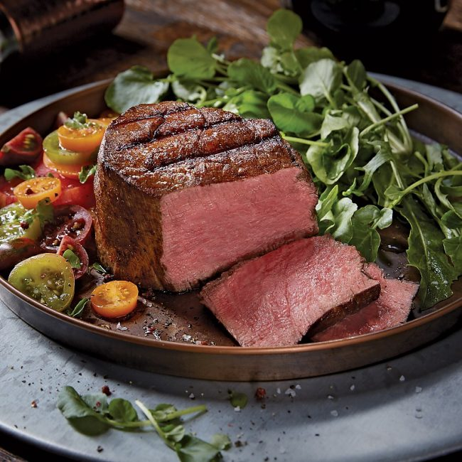 win super trimmed filet mignon from Kansas City Steak Co