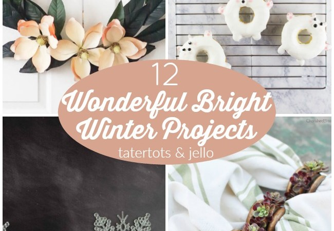 Great Ideas — 12 Wonderful Bright Winter Projects!
