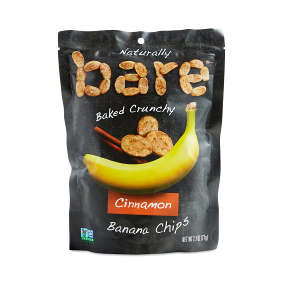 bare cinnamon banana chips