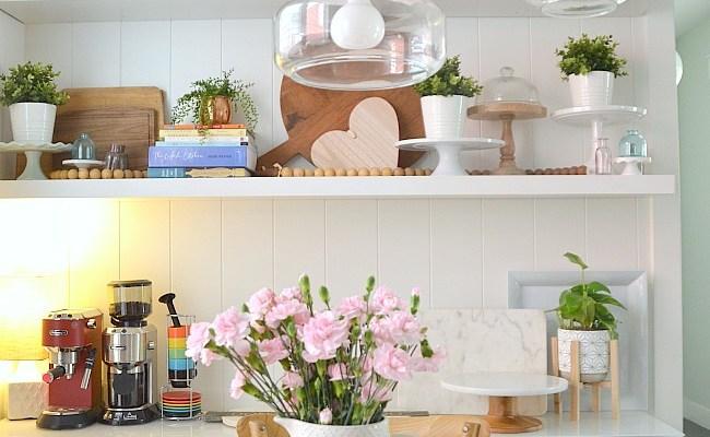 Create a Modern Farmhouse Kitchen Display Wall for $40