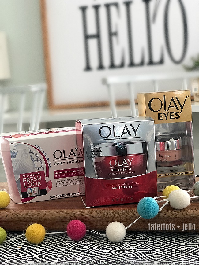 My New Year 3-Step Skin Reset - I'm resetting my skin using OLAY products and sharing the results over the next few months!
