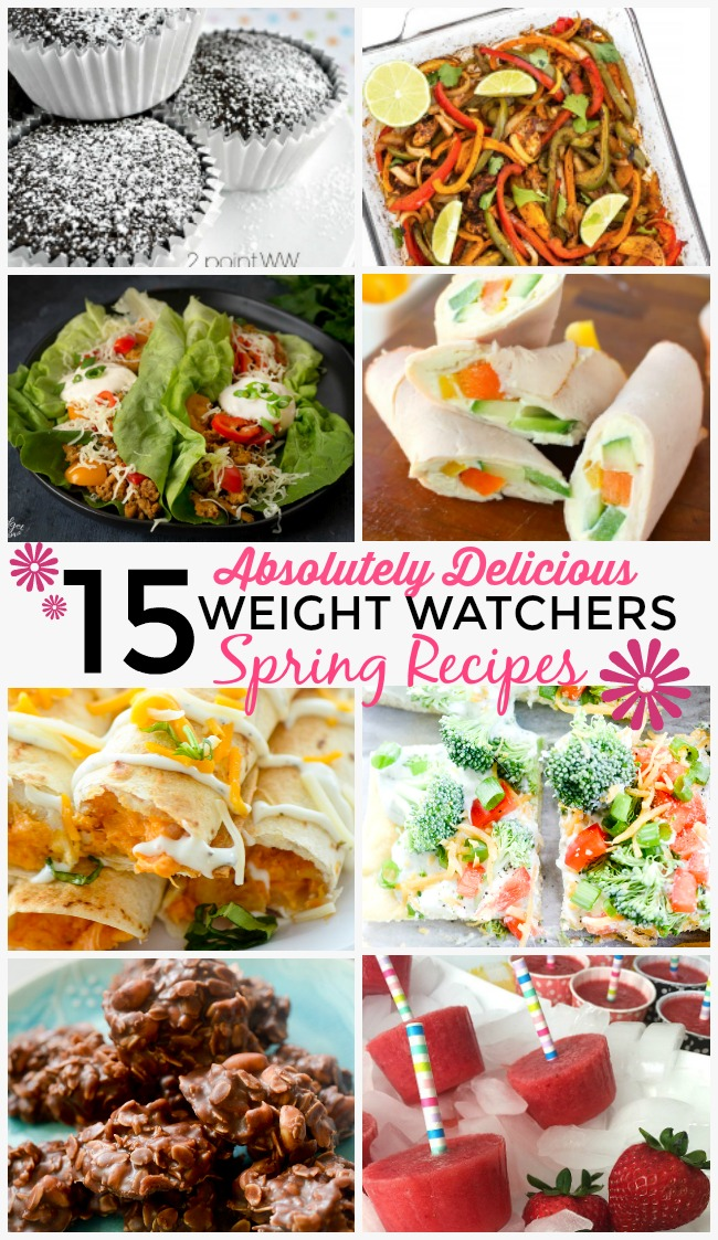 Get swimsuit ready easily by whipping up these healthy low point weight watchers recipes!