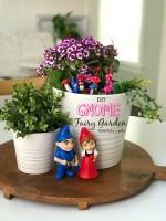 Kids Craft – Make a DIY Gnome Fairy Garden!
