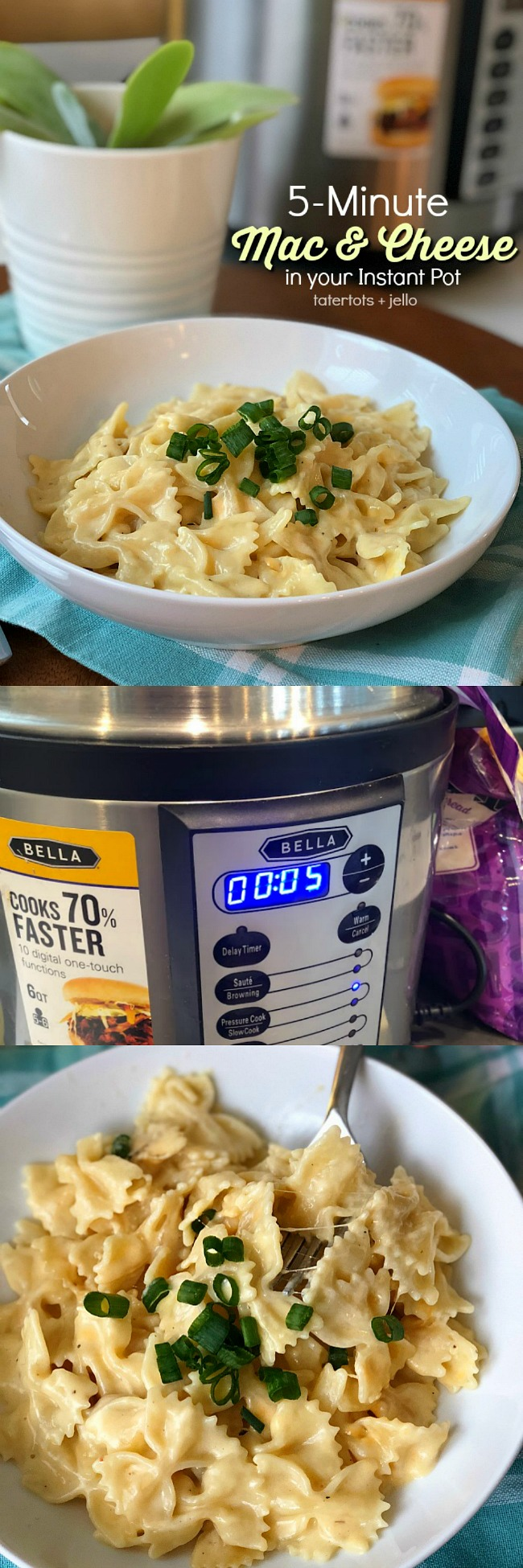 5-Minute Mac and Cheese in Your Instant Pot