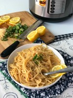 How to Make Instant Pot Lemon Parmesan Pasta in 8 Minutes!