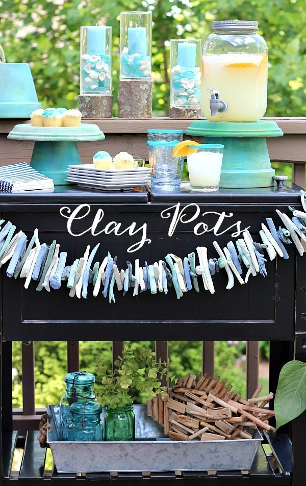 14 Bright Summer DIY's - easy easy ways to brighten your home!