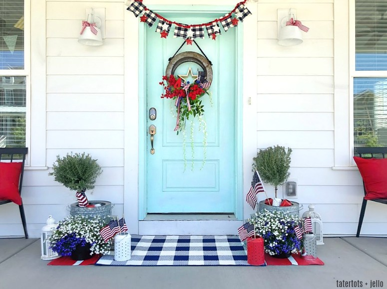 6 Ways To Decorate Your Porch For The Fourth Of July