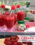 Sugar Free Frozen Strawberry Lemonade Recipe