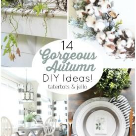 14 Gorgeous Autumn DIY Ideas!