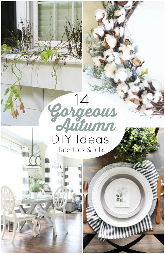 Neutral Fall Decor is an easy and gorgeous way to transition from summer to fall. Here are some easy ways to bring fall into your home!