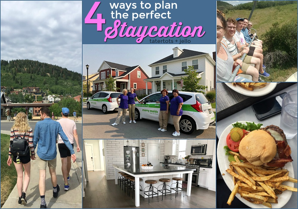 Four Ways to Plan the PERFECT Family Staycation!