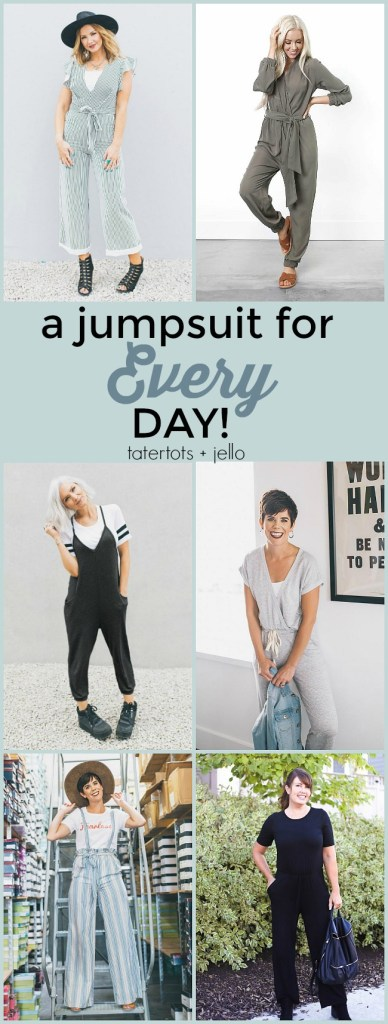 Jumpsuits for EVERY day! Grab the most versatile and comfortable jumpsuit for ANY occasion. Cents of Style has introduced an exclusive line of 6 everyday jumpsuits that will transform your life.
