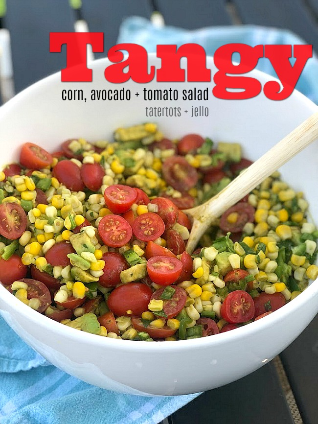 Corn Avocado Tomato Salad Recipe Real Simple