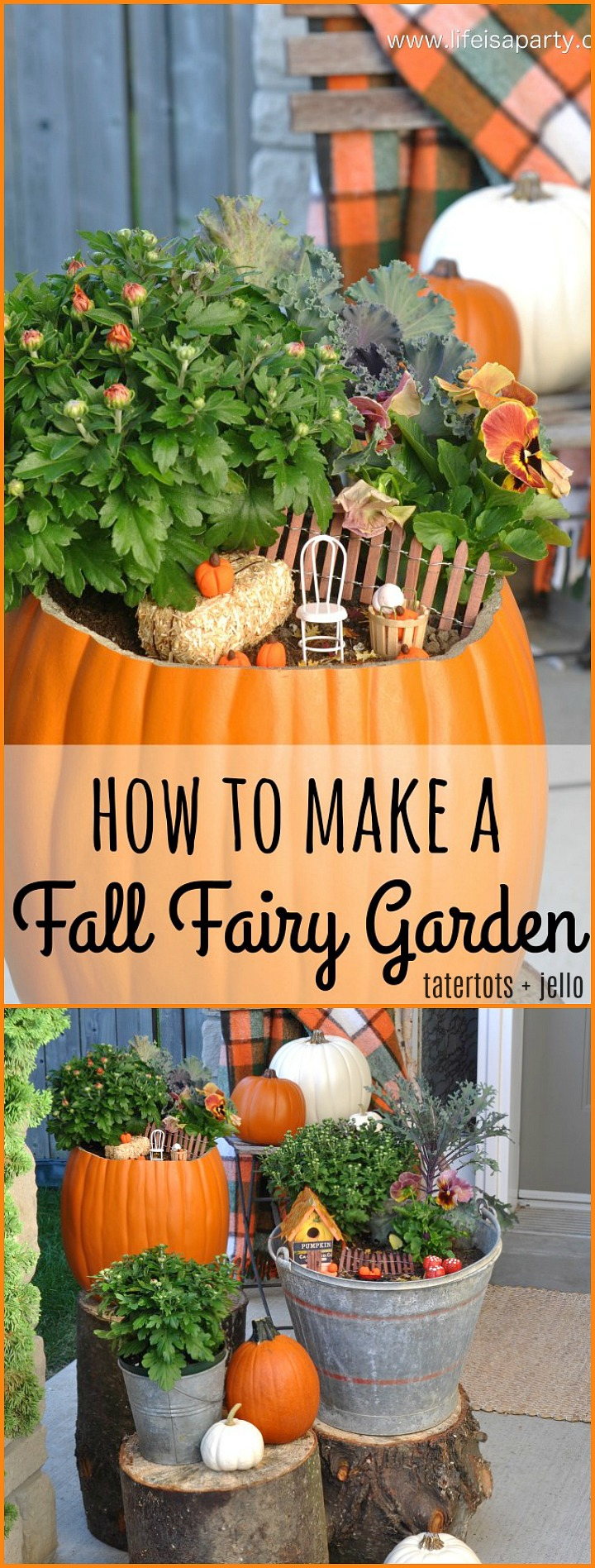 How to make a magical Fall fairy garden for your home!