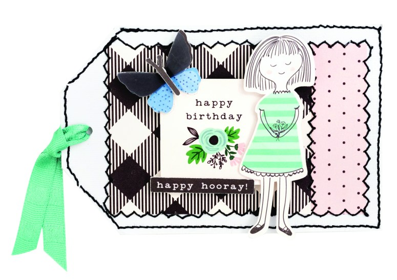 Along The Way is a happy line full of adorable icons, paper, tags and images that are perfect for scrapbooking, card-making, paper crafts and more! Come see the creative ideas!