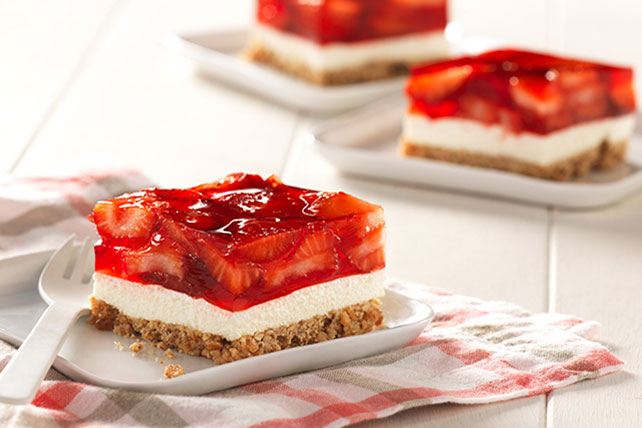 Weight Watchers Pretzel Strawberry Squares