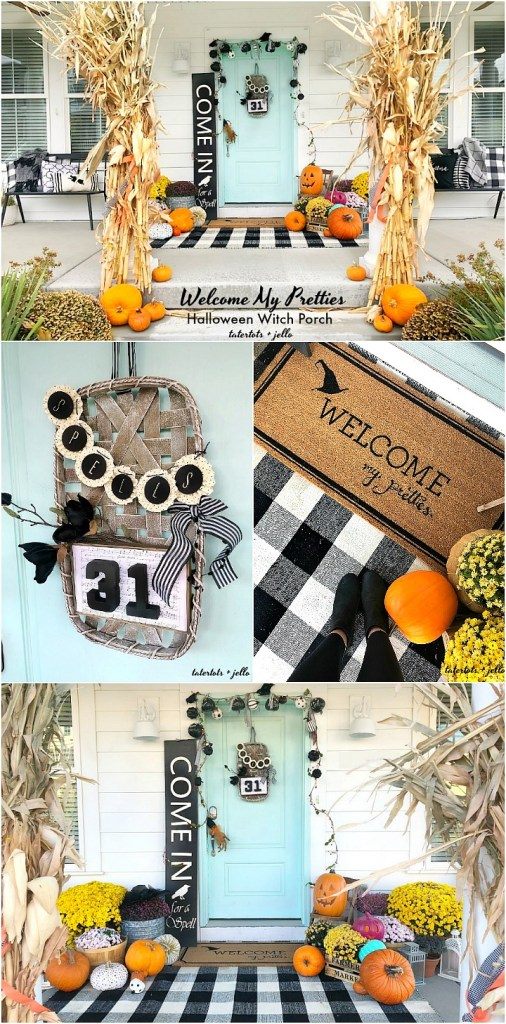Welcome My Pretties – how to create a Halloween Theme Porch