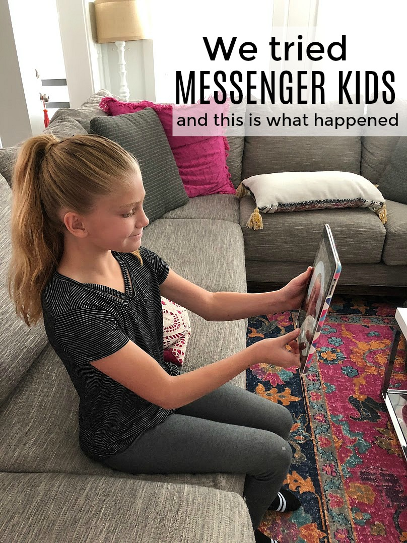 We Tried Messenger Kids And This Is What Happened