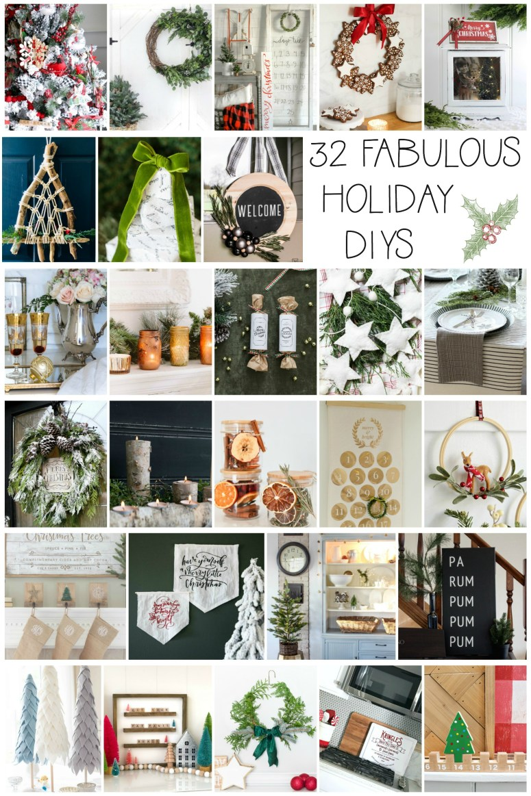 32 of the best holiday DIY projects for your home!