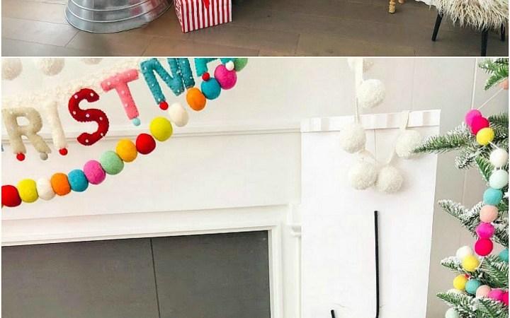 Make a GIANT JOY Sign Out of a Shelf