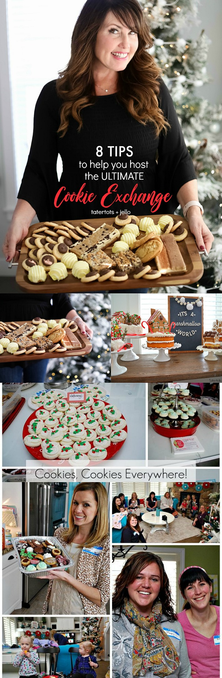 8 tips to help you throw the ultimate holiday cookie exchange party