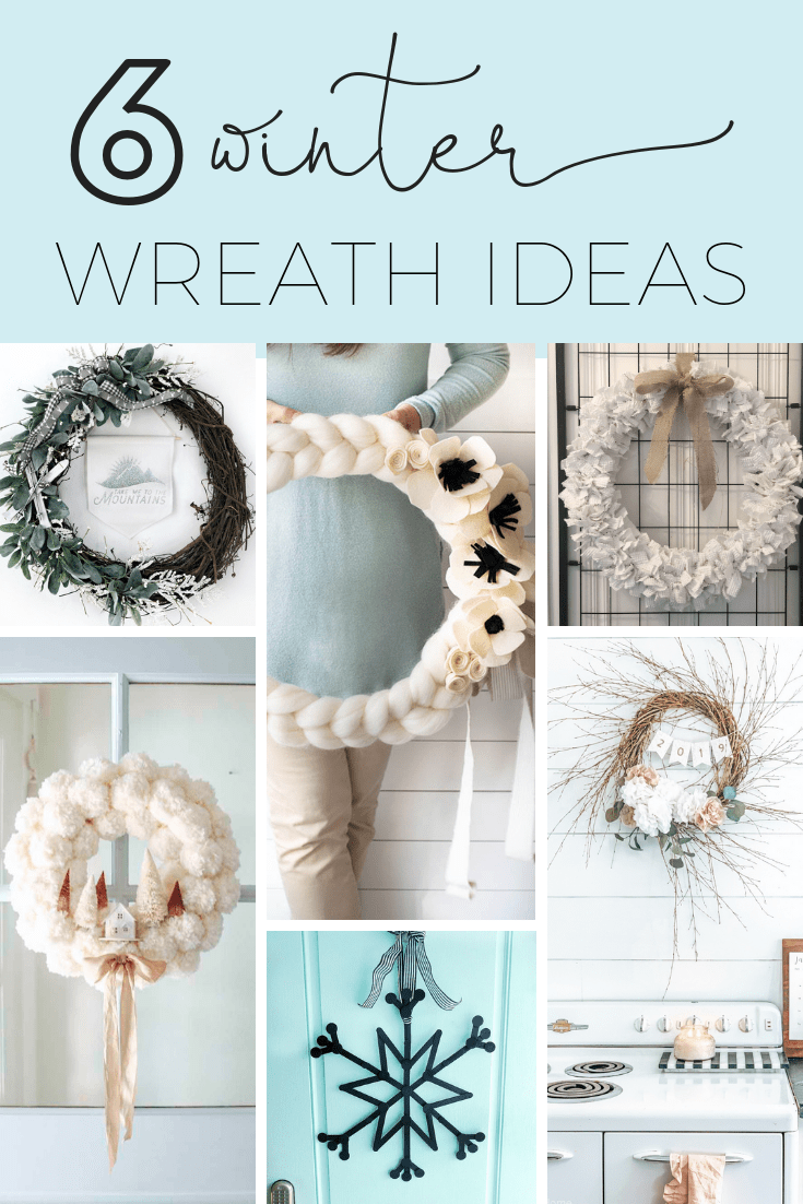 6 winter wreath tutorials