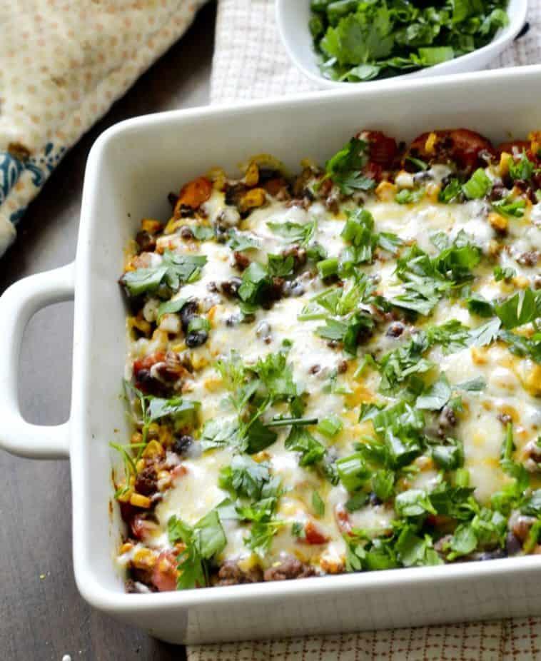 5 point Weight Watchers Mexican Casserole Dinner Recipe