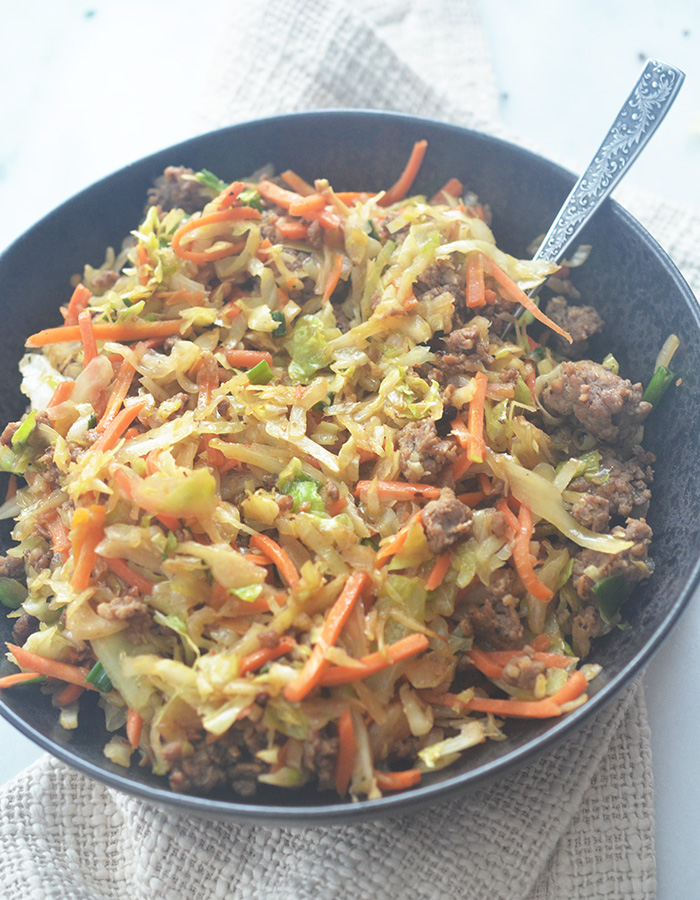 6 Smart Point Weight Watchers Egg Rolls in a Bowl Recipe
