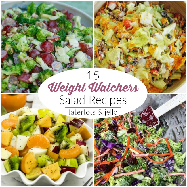 15 Weight Watchers Salad Recipes