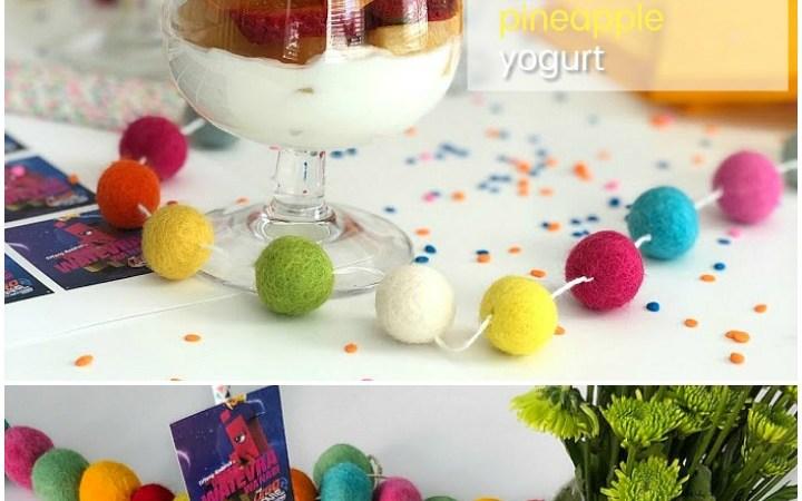 Rainbow Fruit Parfaits and the Lego 2 Movie!