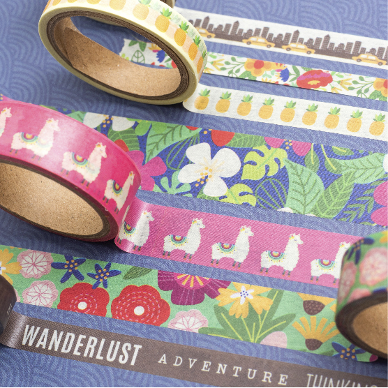chasing adventures washi tape
