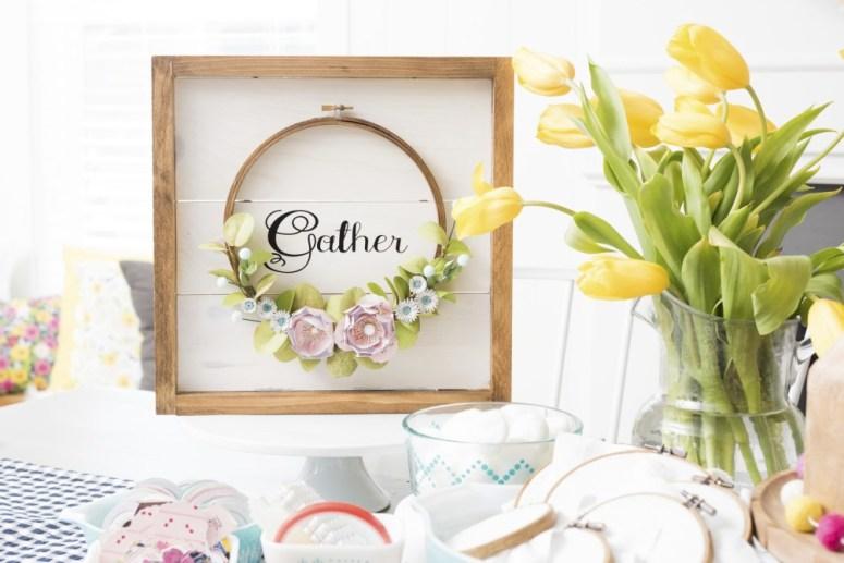spring wreath DIY tutorials