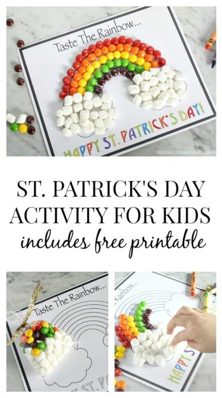 free st. patrick's day activity for kids