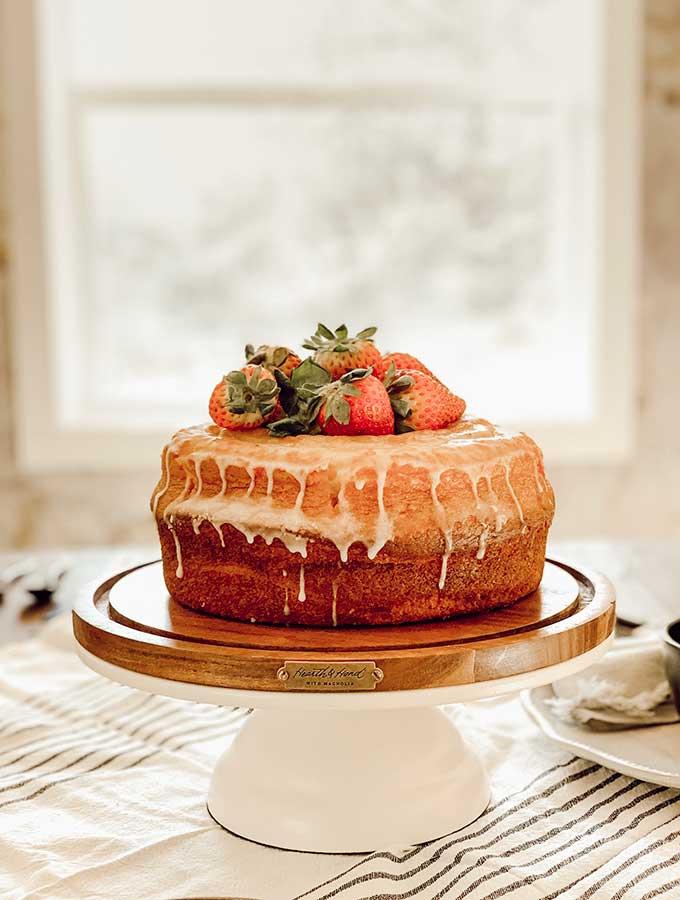 Lemon Bundt Cake from Magnolia Table