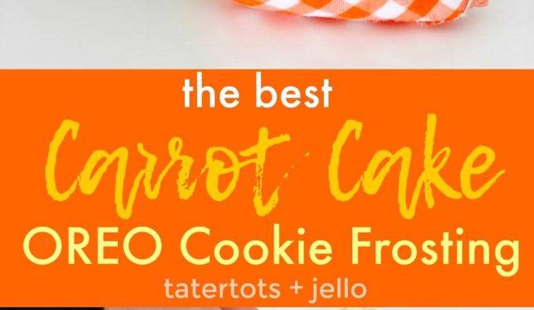 Carrot Cake OREO Buttercream Frosting Recipe