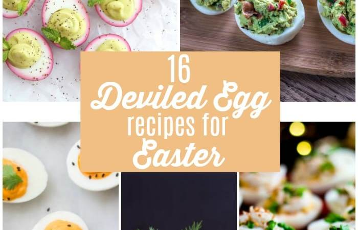 16 Deviled Egg Recipes Perfect for Easter!