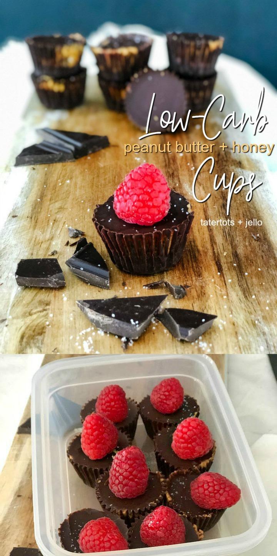 Make Low-Carb Peanut Butter and Honey Cups (Keto, Natural, Low-Sugar, Vegan)