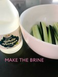 Make crunchy, spicy dill pickles in your home. It just takes a few ingredients and you can switch the recipe up to make all kinds of different flavored pickles. Never buy store-bought pickles again!