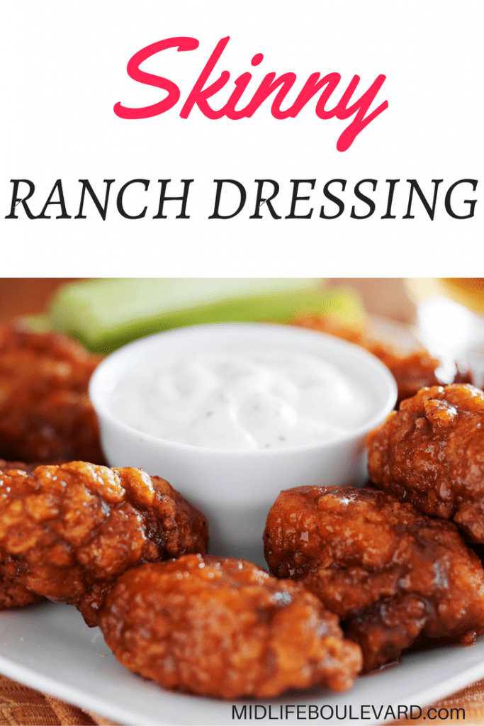 1 Point Weight Watchers Skinny Ranch Dressing @ Midlife Boulevard