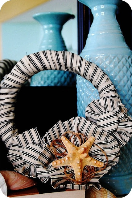 Beachy Summer Wreath