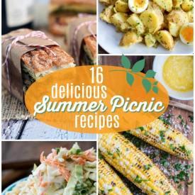16 DELICIOUS Picnic Recipes