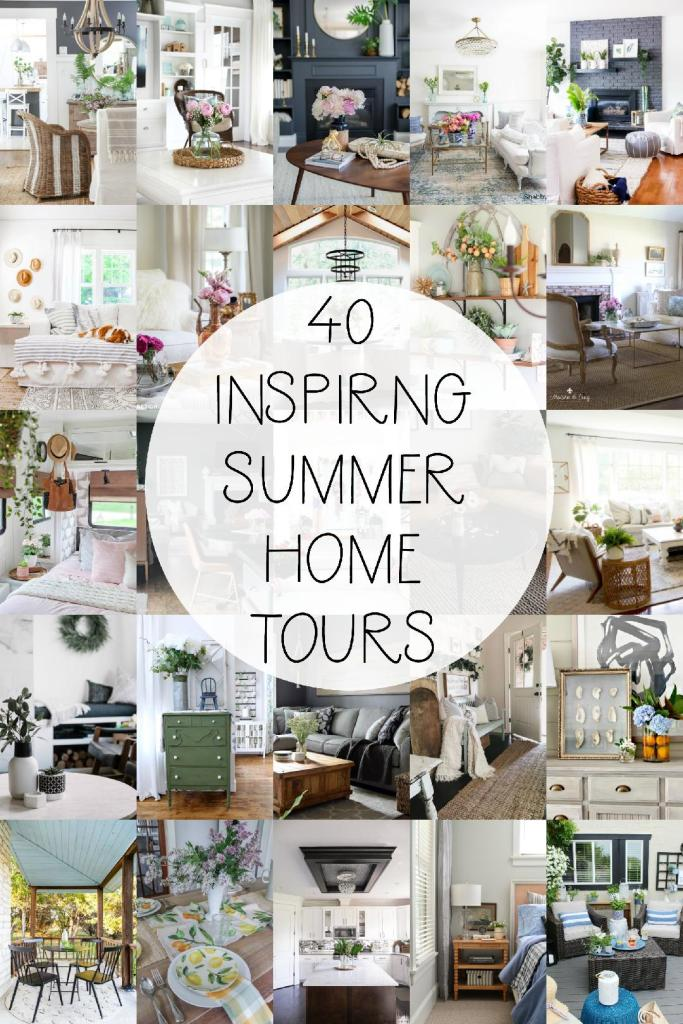40 inspiring summer home tours!