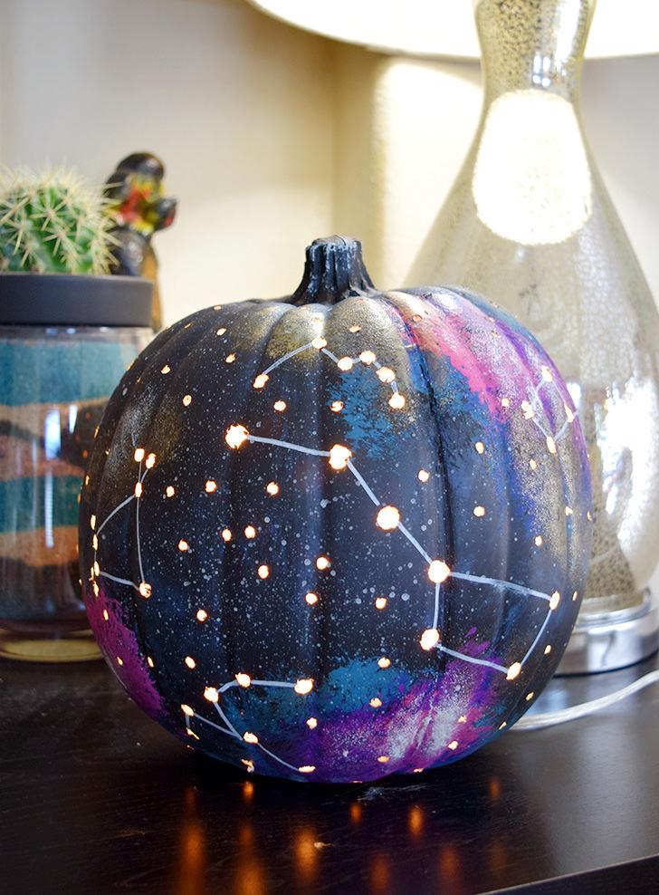 Galaxy Pumpkin @ Dream a Little Bigger