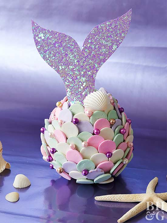 Make a Mermaid Pumpkin @ Better Homes and Gardens