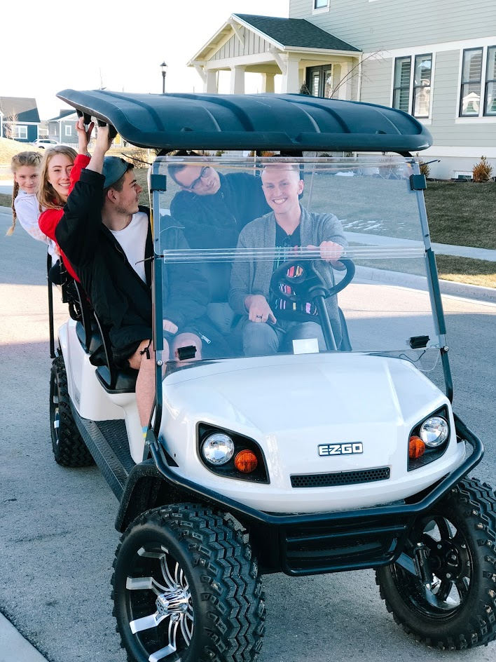 We Were Able to Use an E-Z-GO Golf Cart in our Neighborhood for 1 Year and this is what happened!