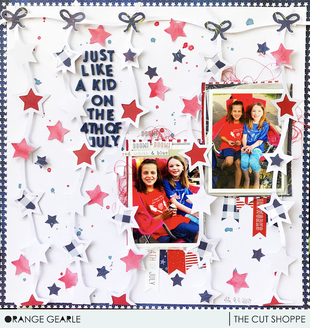 Michelle Gallant - The Cut Shoppe. Layouts and cut files.