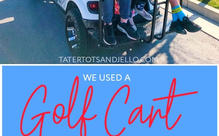 We Were Able to Use an E-Z-GO Golf Cart in our Neighborhood for 1 Year and This is What Happened