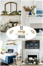 12 Cozy Fall Mantel Ideas!